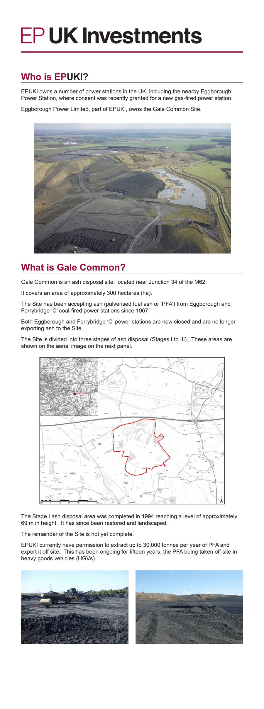 Gale common consultation